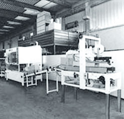 Development and creation of first packing and palletizing system