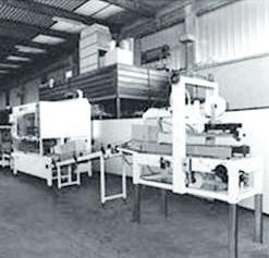 Desenvolvimento e produção do primeiro sistema de packing e palletizing