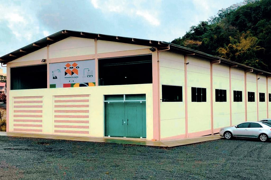 Stabilimento produttivo TMG Brasil